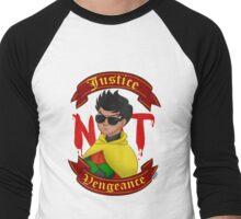 Justice not Vengeance Men's Baseball ¾ T-Shirt