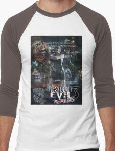 Resident Evil 3 Men's Baseball ¾ T-Shirt