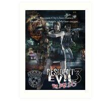 Resident Evil 3 Art Print