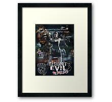 Resident Evil 3 Framed Print
