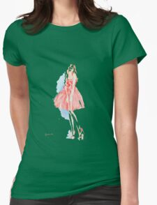 Pretty Girl Womens Fitted T-Shirt
