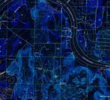 USGS TOPO Map Alabama AL Triana 305235 1951 24000 Inverted Sticker
