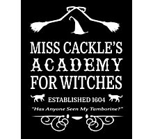 Cackle Academy Photographic Print