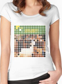 THE BEACH BOYS, PET SOUNDS, BENDAY DOTS Women's Fitted Scoop T-Shirt