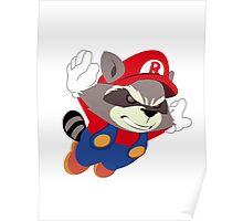 Super Raccoon Suit Poster