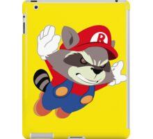 Super Raccoon Suit iPad Case/Skin
