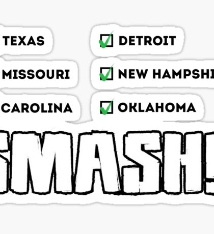 SMASH!! Sticker