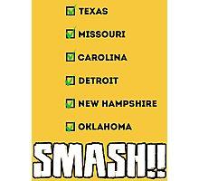 SMASH!! Photographic Print