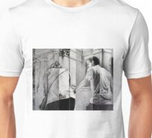 A Helping Hand, 2015, 50-65cm, graphite crayon on paper Unisex T-Shirt