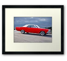 1966 Ford Fairlane 500 Convertible Framed Print