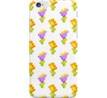 Pixel Flowers iPhone Case/Skin