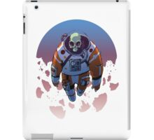 Spacetronaut - S34RCH1NG C010R iPad Case/Skin