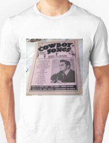 Johnny Cash & Guitar, 1950's Magazine Cover! T-Shirt
