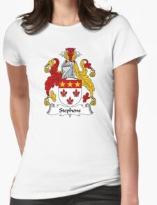 Stephens Coat of Arms / Stephens Family Crest Womens Fitted T-Shirt
