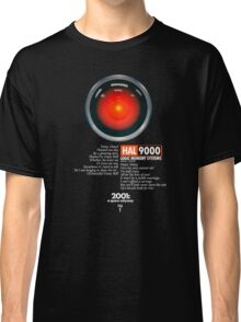 2001: A Space Odyssey (HAL 9000) Classic T-Shirt