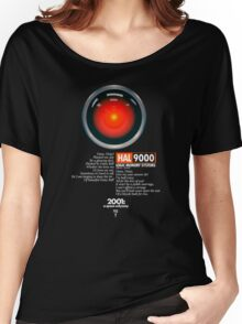 2001: A Space Odyssey (HAL 9000) Women's Relaxed Fit T-Shirt