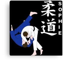 Personalised Judo Canvas Print