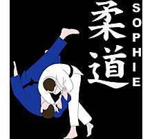 Personalised Judo Design Photographic Print