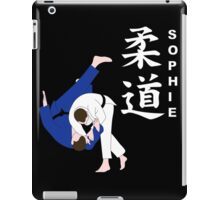 Personalised Judo Design iPad Case/Skin