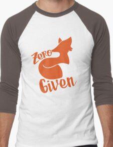 Zero FOX given Men's Baseball ¾ T-Shirt