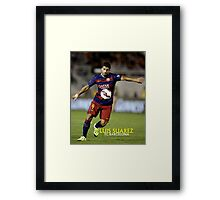 HOT ITEM LUIS SUAREZ BARCELONA - 01 Framed Print