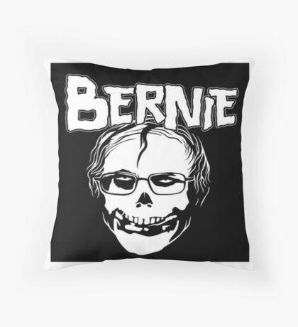 Bernie - Misfits logo Throw Pillow