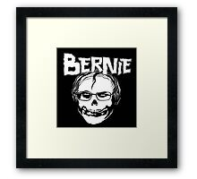 Bernie - Misfits logo Framed Print