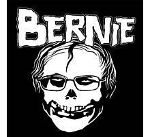 Bernie - Misfits logo Photographic Print