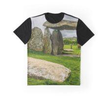 Pentre Ifan Burial Chamber Preseli Hills Graphic T-Shirt