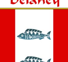 Delaney Coat of Arms/Family Crest Sticker