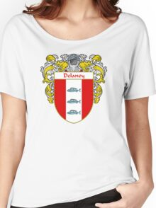 Delaney Coat of Arms/Family Crest Women's Relaxed Fit T-Shirt