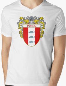 Delaney Coat of Arms/Family Crest Mens V-Neck T-Shirt