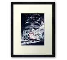 The Comfort In Darkness Framed Print
