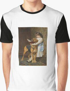 Briton Riviere - Reading Lesson Compulsory Education Graphic T-Shirt