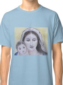 Mary and Jesus Classic T-Shirt