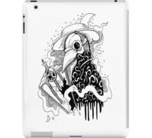 The Plague Doctor iPad Case/Skin