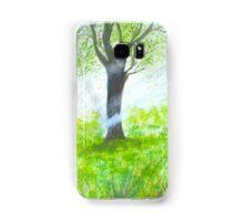 Forest with sunlight.  Samsung Galaxy Case/Skin