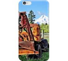 Parkdale Oregon - Valley Of Trees iPhone Case/Skin