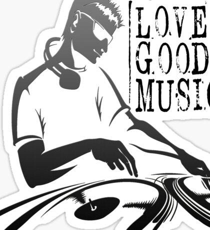 love good music !! Sticker