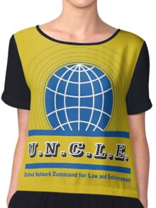The Man From UNCLE Chiffon Top