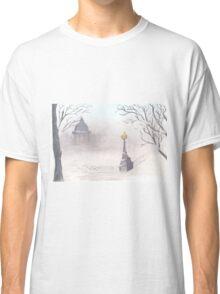 Beautiful winter scenery Classic T-Shirt