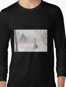 Beautiful winter scenery Long Sleeve T-Shirt