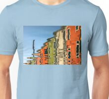 Colorful houses of Burano island - Venice Unisex T-Shirt