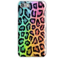Colorful Leopard Animal Print iPhone Case/Skin