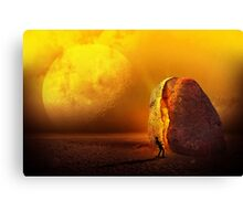 The Asteroid Canvas Print