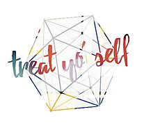 Treat yo' self - alternate Photographic Print