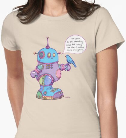 I was going to say something cute and witty...  Womens Fitted T-Shirt