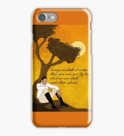Vine and Fig Tree Artwork iPhone Case/Skin