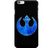 Rebel Alliance blue starbird iPhone Case/Skin