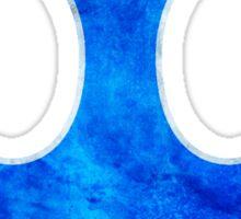 Rebel Alliance blue starbird Sticker